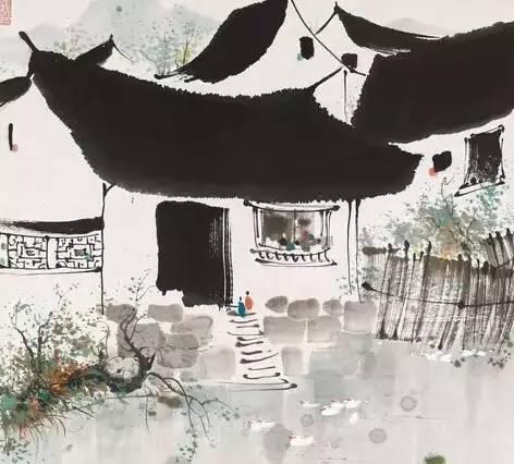 """中西绘画本是""""一家人"""""""