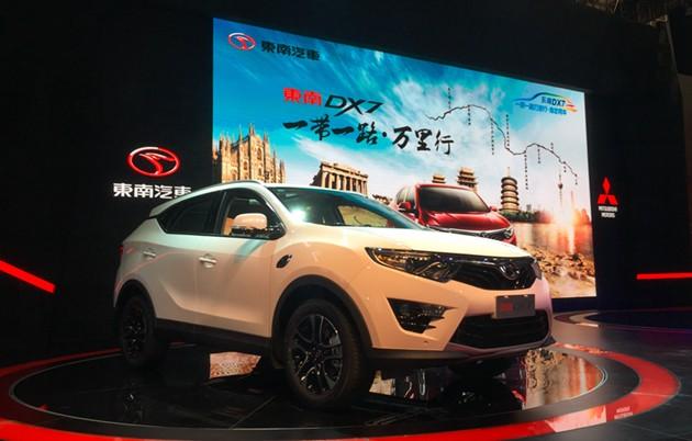 东南DX7车展人气火爆 获年度畅销SUV实至名归
