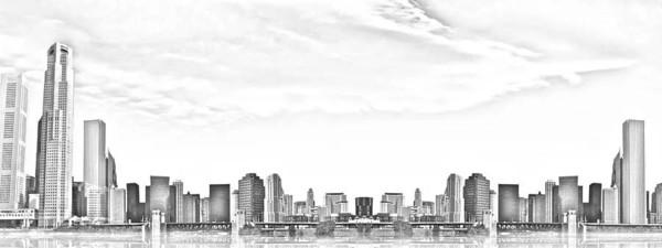 就像那最初的铅笔画,寥寥几笔,便是一座城.