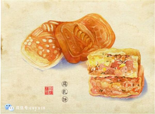 手绘潮汕美食——很有韵味哦