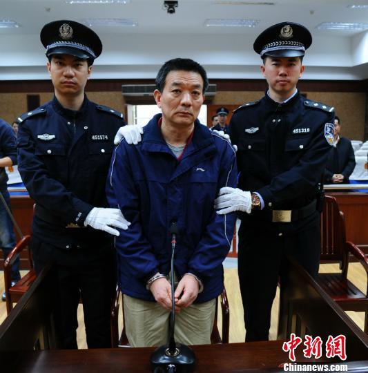 图为廖小波接受宣判 吴斌 摄