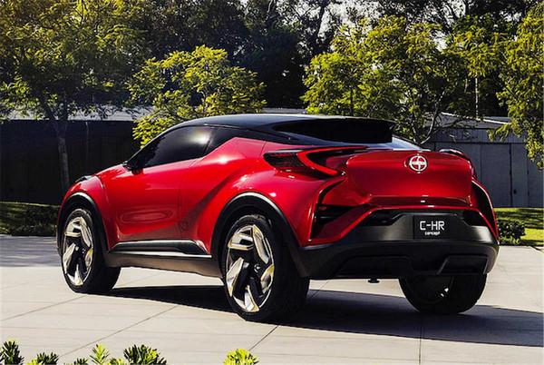 操�:)�lc_丰田的小型suv将到来!丰田c-hr概念车明年量产