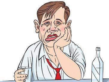 卡通脸过敏图片