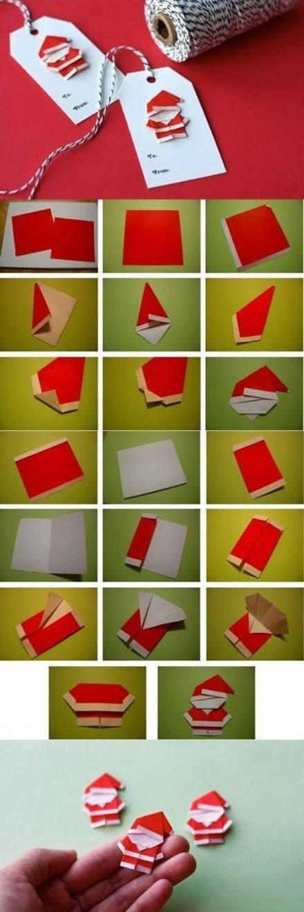 折纸圣诞老人 圣诞老人的折法