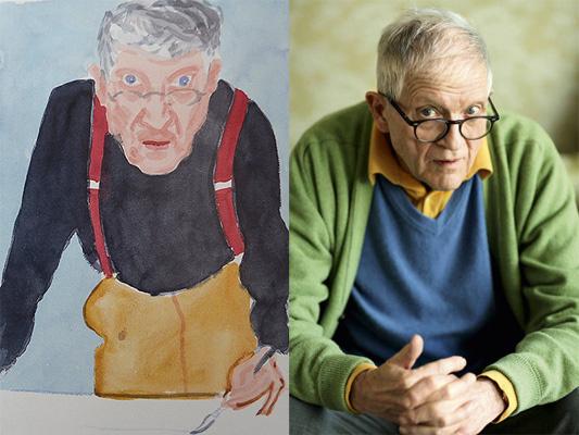 深度丨英画家大卫-霍克尼 大画家为何都爱画自己?