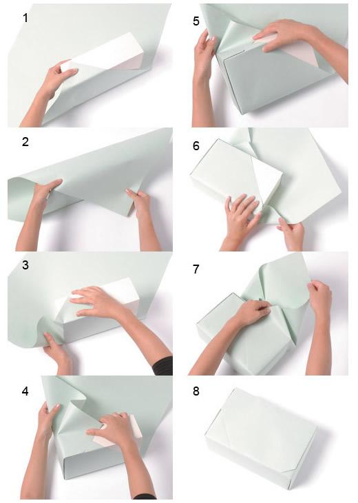如何包装礼物_图解礼物包装方法大全