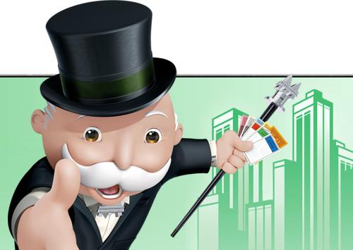 大富翁先生是游戏《大富翁》中的人物,其重要财富来源是房地产。