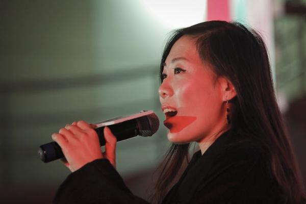 2015年11月26日,上海诺宝核心,顾少强正在加入《猖獗好声响》流动。磅礴新闻记者 高征 图