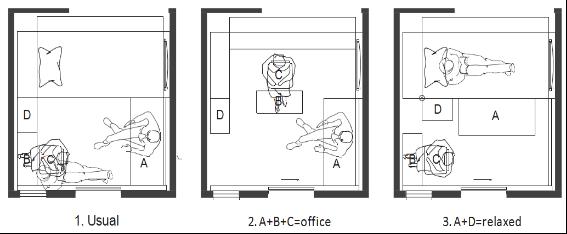 门店位置平面图手绘