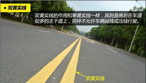 道路交通标线大全及图解