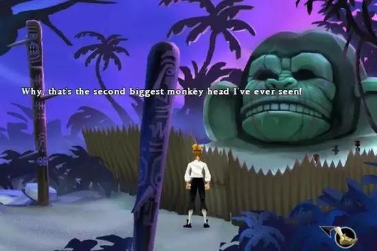 """《猴岛的秘密》:""""这是俺见过的第二大的猴子头!"""""""