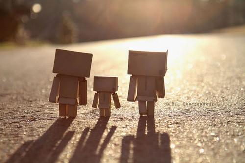一组纸盒人danbo的唯美图片.图片