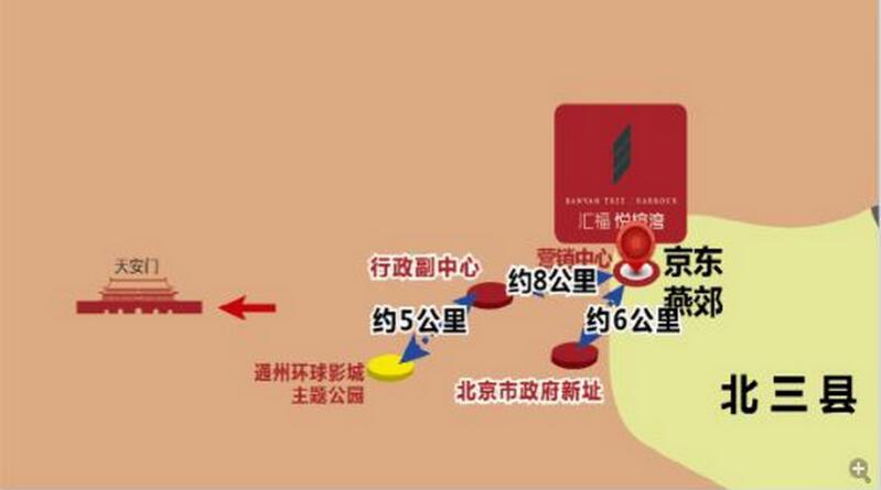 北京市政府迁址,通州副中心终落地