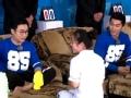 《浙江卫视挑战者联盟第一季片花》第十二期 李晨冰冰一起做足疗 大鹏扮按摩师对林更新使坏