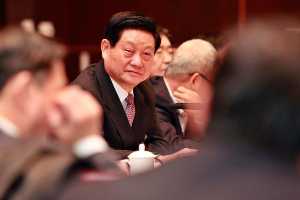 陕西省委书记赵正永。 视觉中国 资料图