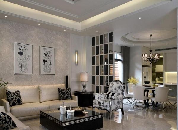 大客厅90平米客厅装修效果图