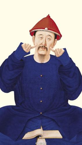 博物馆卖萌:清帝表情包出炉 秘色瓷饼干走红