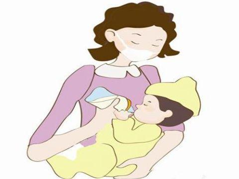 妈妈孩子读书卡通