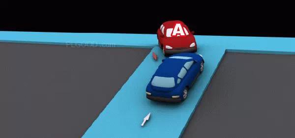 在无信号灯路口会车时为什么要让右侧来车先行?
