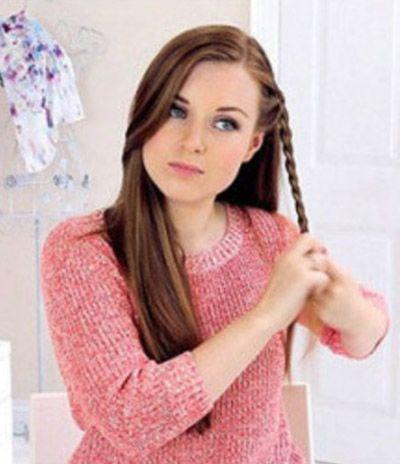 发辫的编织造型