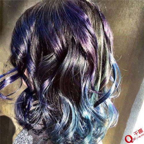 玻璃片染头发?iq200也想不到的天才染发方式图片