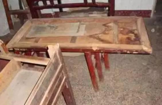 手工制作简易桌子图纸