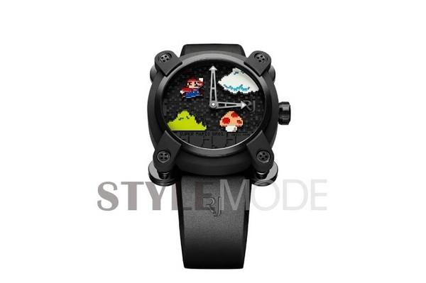 romain jerome发布马里奥主题手表