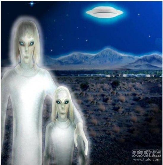 中国曾击落ufo外星人