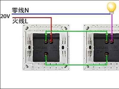 电工必备 最全的开关接线图,单控 双控 三控,收藏吧,别再问了