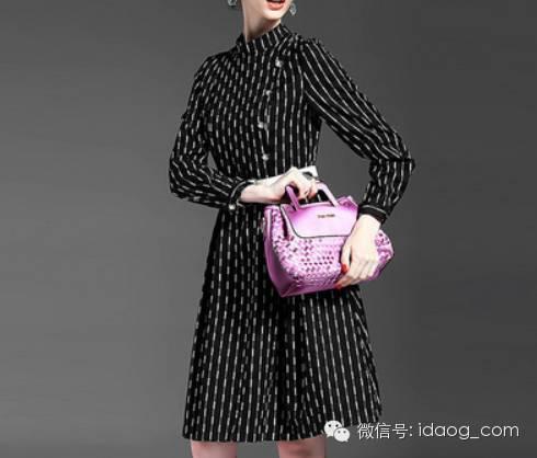 OL优雅连衣裙冬日女人味大爆发