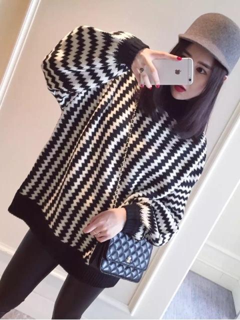 毛衣怎么搭配才能穿出时尚感!