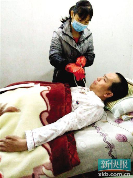 男子遇车祸致瘫痪 15岁女儿写信:请救救我爸爸