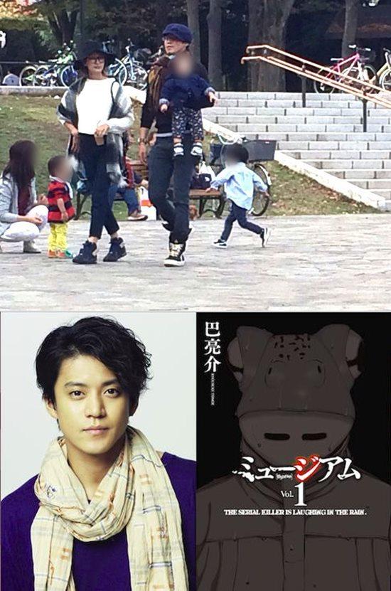 山田优夫妇被拍散步小栗旬抱女儿不离手当v夫妇绿色减肥扬州韩式图片