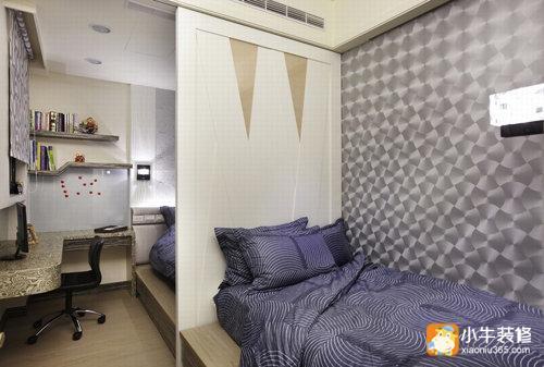 115平三居室小户型装修 华丽新古典风
