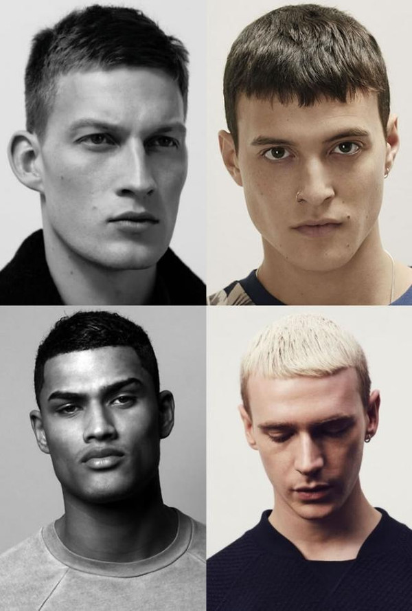 头可断,发型不能乱.那些永不过时男士发型图片