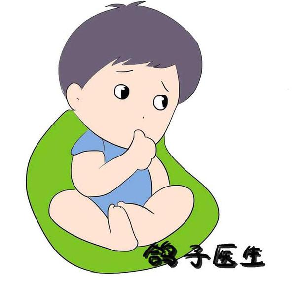 孩子哭闹时,父母首先查明孩子是否有生理需求,是躺的不舒服还是肚子痛图片