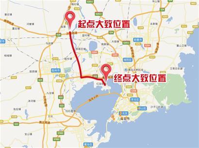 青岛新机场高速计划明年开工 全长40公里2019年完工(图)图片