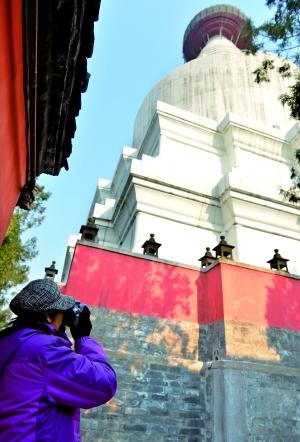 元大都地标妙应寺白塔重开放 已有736年历史