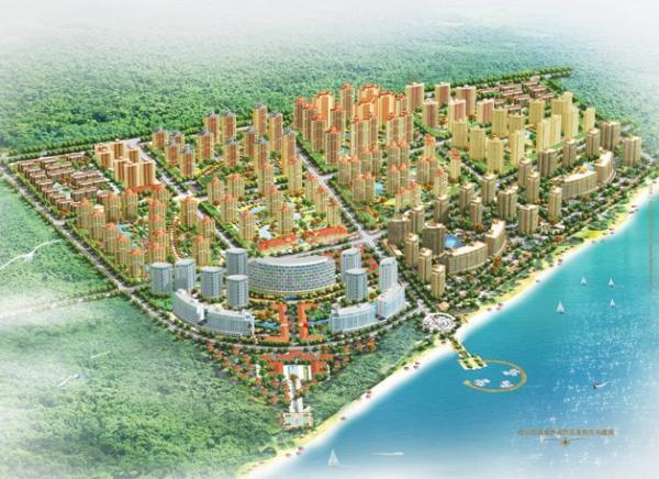 """万国城名目官网上图文引见称,""""威海万国城休闲旅行休假区位于被结合国人居署评为全球最合适寓居地""""。"""