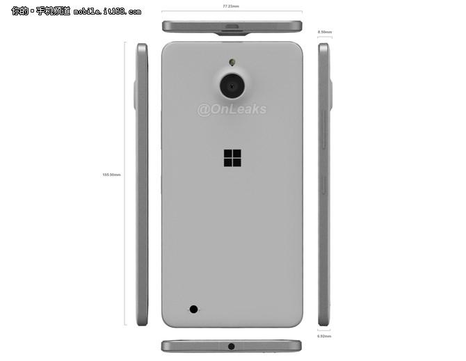 近日,有消息人士放出了一组关于所谓Lumia 850的外观渲染图,从中不难看出,该机采用了金属边框结构,并搭配聚碳酸酯可拆卸式后盖,这一设计基本上与之前的Lumia 830保持一致,只不过该机的整机轮廓更加圆润,并且摒弃了奥利奥式摄像头设计,整体风格更像是之前的Lumia 640 XL。值得一提的是,不同于其他的手机,这款Lumia 850的数据插口在上,而耳机插孔则位于机身下方,看上去颇为奇特。