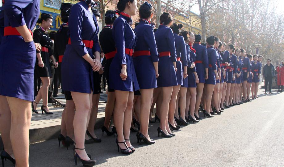滨州山东,制服艺考的女生空姐身着高三合照拍参加.a女生女生头像扣扣图片