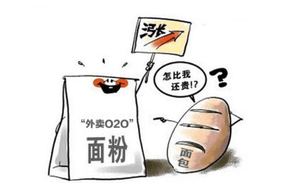 面包比面粉贵!外卖o2o深陷成本僵局图片