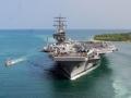 """驻日美军一艘""""里根号""""航母还不够"""