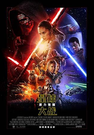 《星球大战:原力觉醒》海报