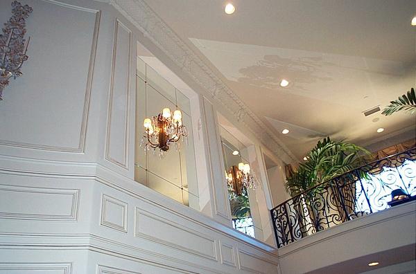 美式装修风格样板房 美式简约装修效果图