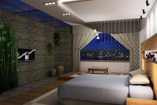 新中式风格卧室装修效果图大全