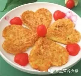 宝宝亨氏米粉 菜粉最爱的19种营养美味早餐饼的做法