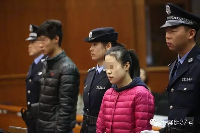 王某和乔某受审。 新京报记者 王贵彬 摄