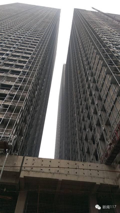 高楼刚建好就被拆 天津65层高楼刚建好就被拆