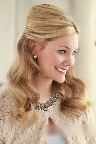 欧式新娘发型图片 打造属于你的个性时尚